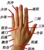 轻松治便秘 手指上的通便穴