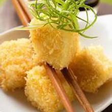 豆腐金枪鱼团