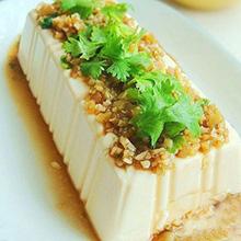 榨菜拌豆腐